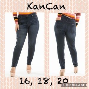 Curvy Girl dark wash KanCan jeans